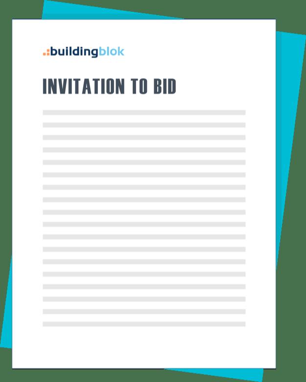 construction bidding software management buildingblok