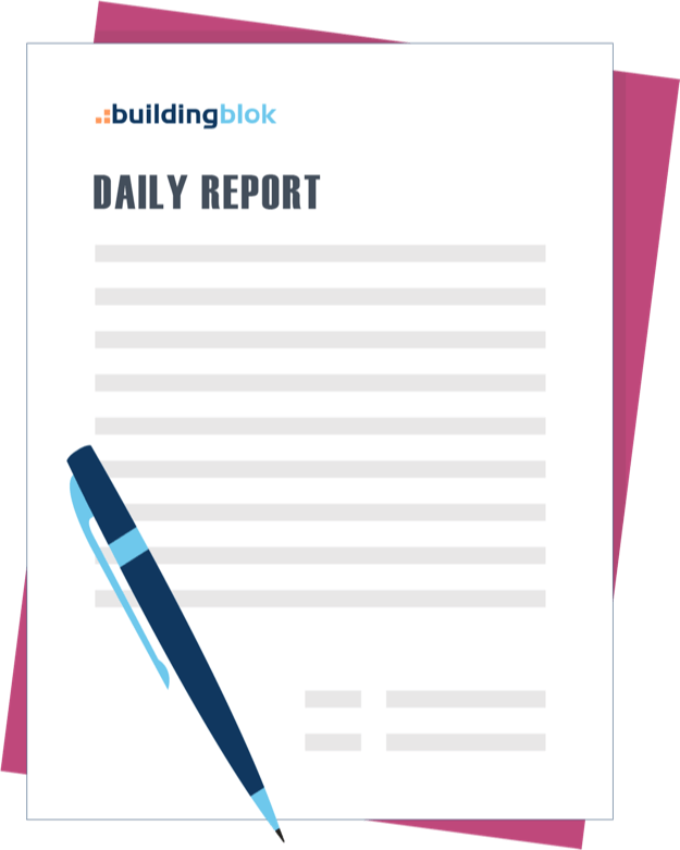 BuildingBlok Daily Reports